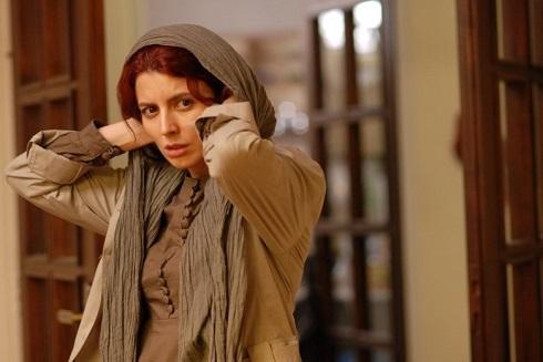 لیلا حاتمی در جدایی نادر از سیمین