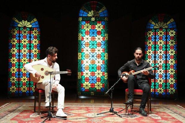 کنسرت سه گروه موسیقی در روز سوم «برخط ماه و نوا»