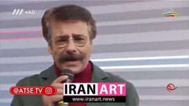 """علیرضا افتخاری آهنگ """"قدح"""" را در برنامه زنده خواند/ ویدئو"""